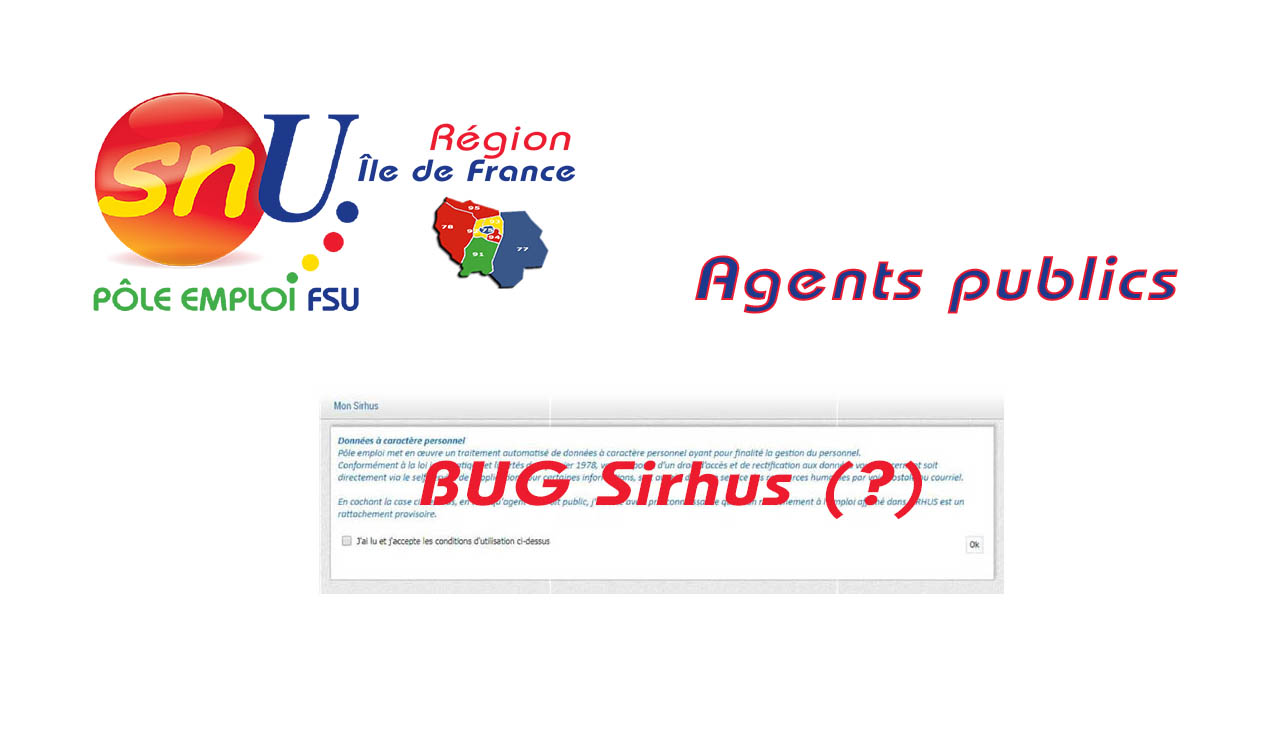 Rattachement des agents publics : Bug (?)