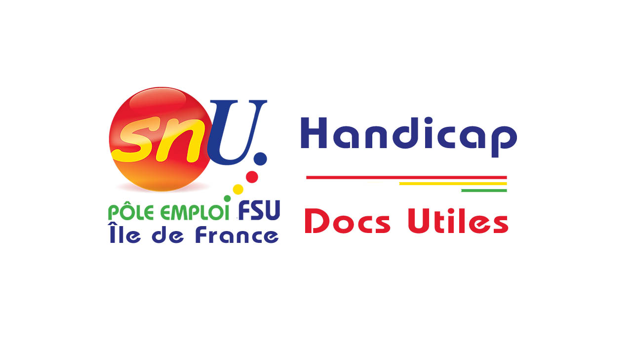 Documents utiles sur le handicap